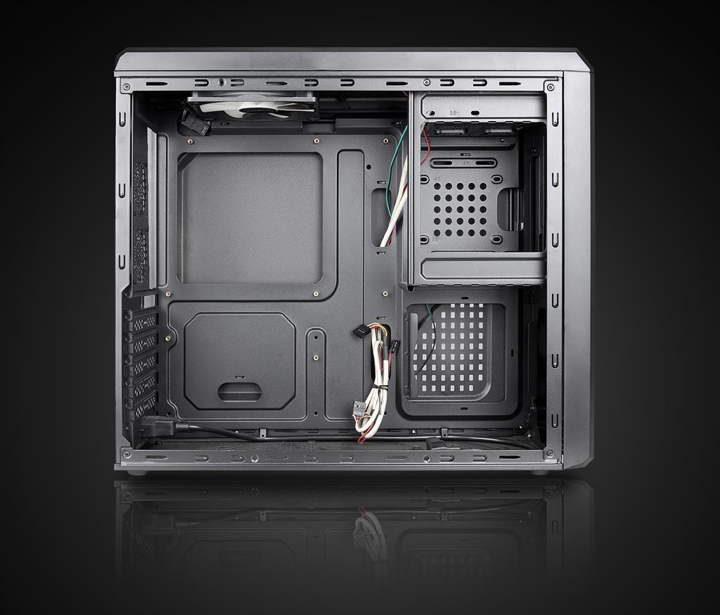 Chieftec PC skříň UNI UC-02B, 350W (GPA-350S8)