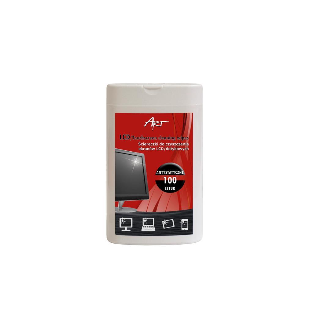 ART AS-01 čistící hadříky na monitory LCD / TFT PK100
