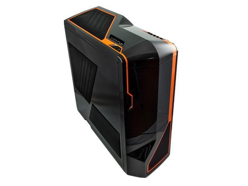 NZXT PC skříň Phantom černo-oranžová