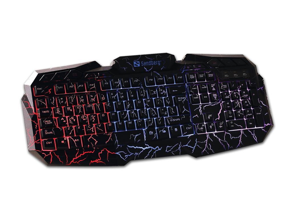Sandberg Thunderstorm DE klávesnice