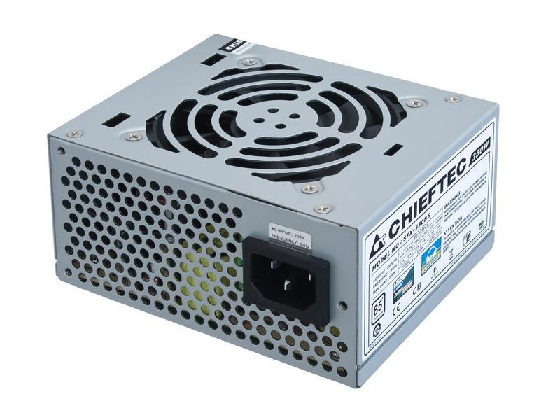 Chieftec SFX zdroj SMART SFX-350BS, 350W bulk, 8cm ventilátor, aktivní PFC