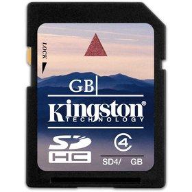 SDHC 8GB CL4 SD4 KINGSTON
