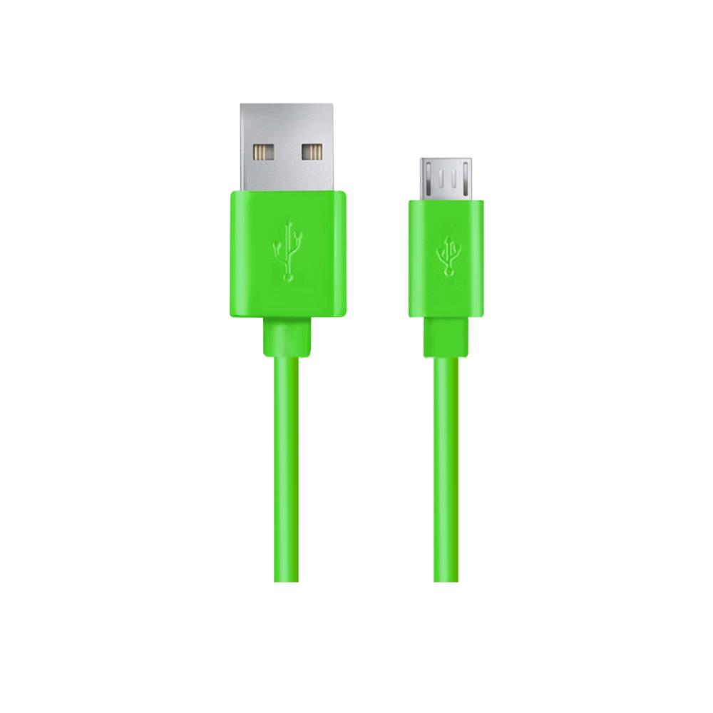 Esperanza EB143G Kabel Micro USB 2.0 A-B M/M, 1.0m, zelený