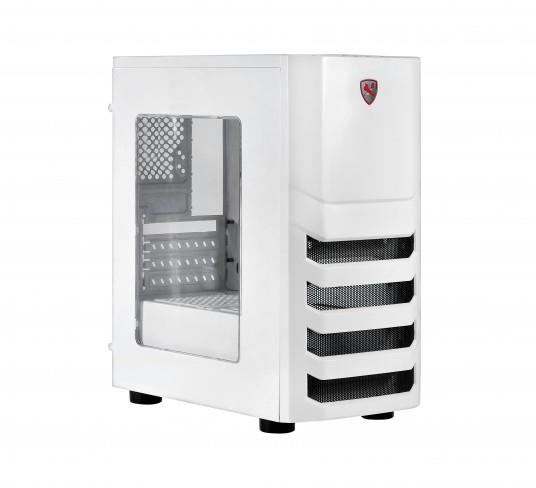 PC case X2 I5 S8022W, Mini tower with ATX, Reinforced EMI shielding, USB3