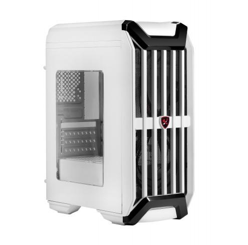 PC case X2 I7 S8024W, Mini tower with ATX, Reinforced EMI shielding, USB3