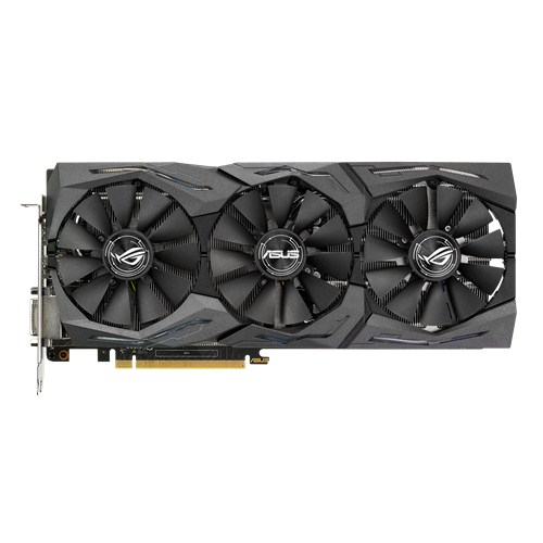 ASUS STRIX-GTX1060-6G-GAMING - 6GB GDDR5 (192 bit), HDMI, DVI, 2x DP, 1708 boost clock