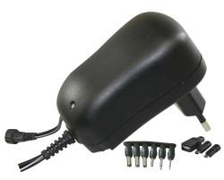 Emos napájecí zdroj pulzní MW3K10GS, 3-12 V / 1 A max., micro/mini/USB