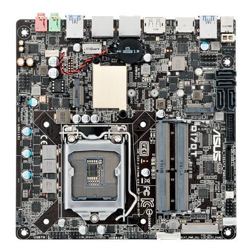 ASUS Q170T, SODIMM DDR4, SATA 6Gb/s, USB 3.0