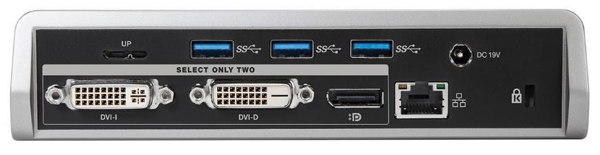 Targus 4K Universal Docking Station, USB 3.0, Single 4K or Dual HD Video, Black