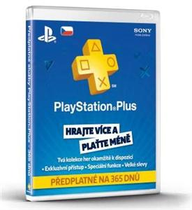 SONY PlayStation Plus Card 365 Day/CZE