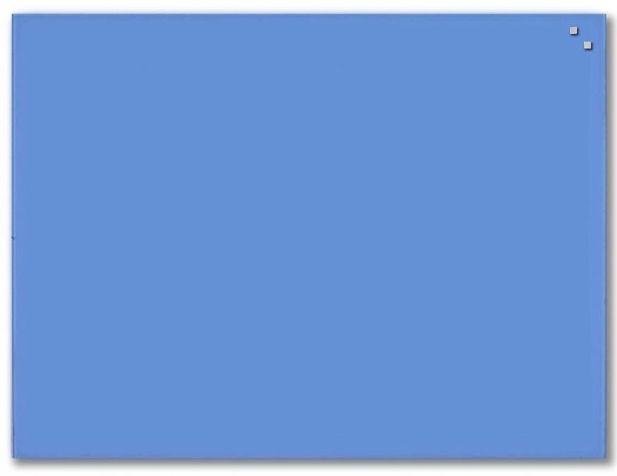NAGA Magnetic glass board 60x80 blue