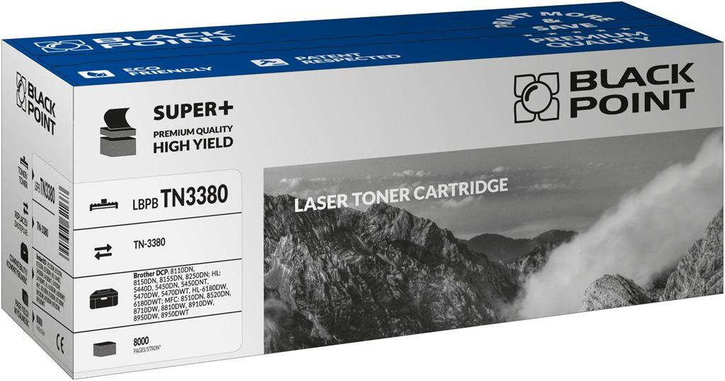 Toner Black Point LBPBTN3380 | black | 8000 pp | Brother TN-3380