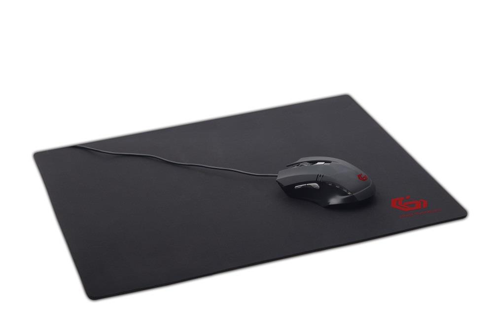 Gembird herní podložka myši, černá, velikost XL 350x900mm