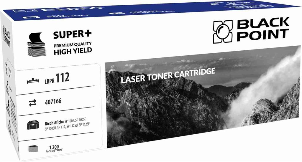Toner Black Point LBPR112 | black | 1 200 pp | Ricoh SP100SF / SP100SU / SP112