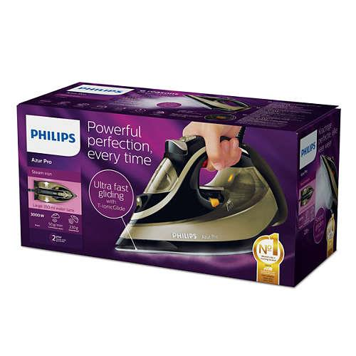 Iron Philips GC4887/00 Azur Pro | black-gold