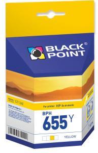Ink cartridge Black Point BPH655Y | yellow | 10,5 ml | HP CZ112AE