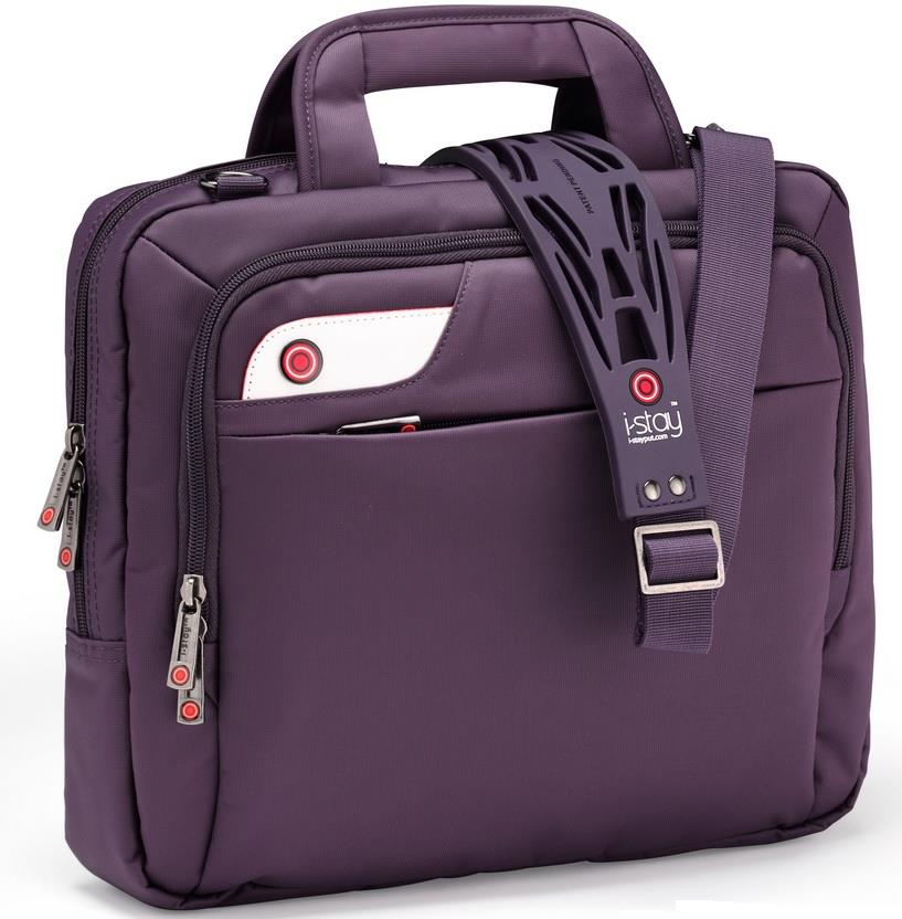 I-stay Launch Tablet/Netbook/Ultrabook Bag 13.3'' purple