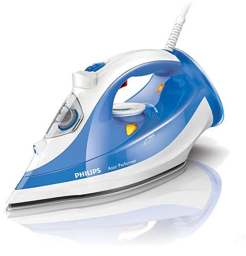 Iron Philips GC3810/20 Azur Performer | white-blue