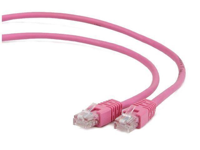 Gembird Patch kabel RJ45 , cat. 6, FTP, 2m, růžový