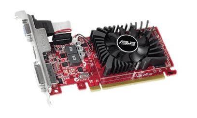 ASUS Radeon R7 240 OC, 4GB GDDR3 (128 Bit), HDMI, DVI, D-Sub
