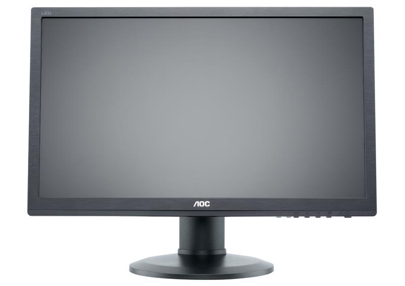 AOC LCD e2260PQ/BK 22'',LED,2ms, DC50mil.,DVI,DP,repro,1680x1050,HAS,pivot,č