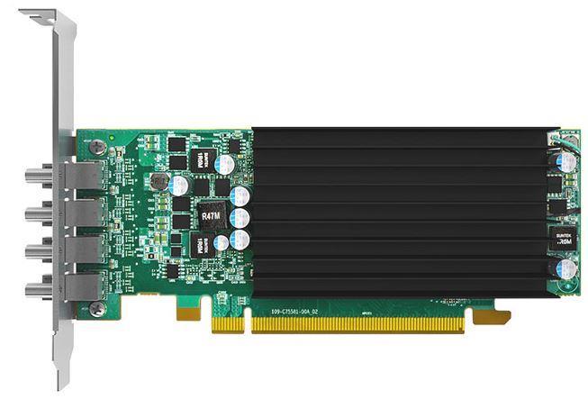 MATROX C420 2GB, Mini Display Port adapter cable, PCI-E x16 quad video card