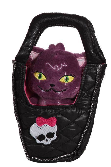 Mattel Monster High plush Cat in a bag
