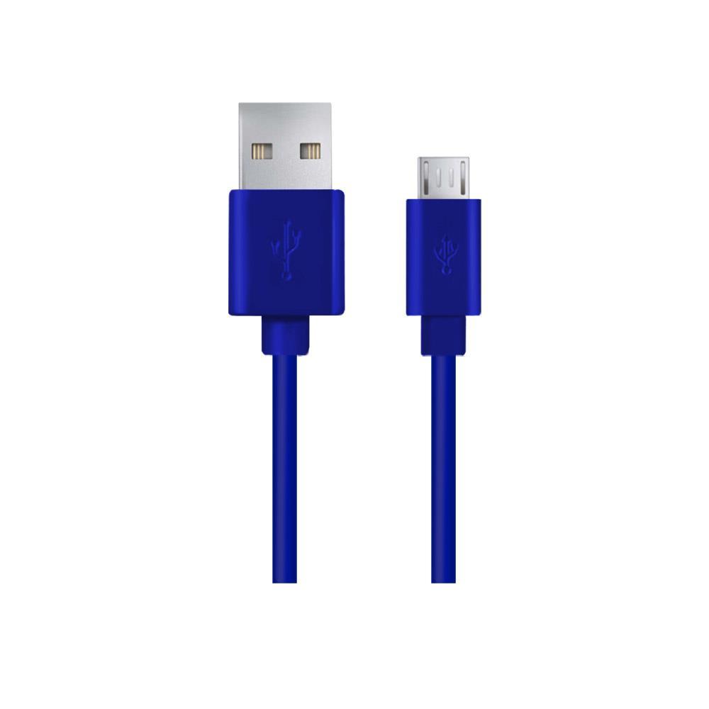 Esperanza EB143B Kabel Micro USB 2.0 A-B M/M, 1.0m, modrý