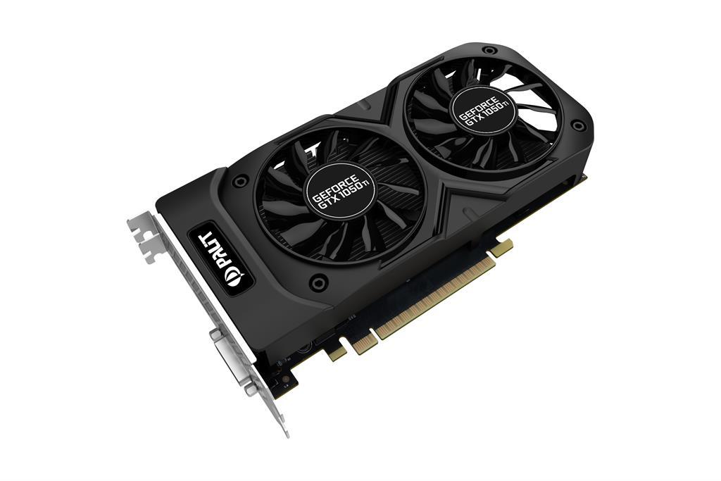 PALIT GeForce GTX 1050 Ti 4GB Dual OC, DP+HDMI+Dual-link DVI