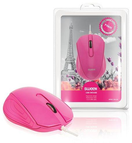 SWEEX Paris Mouse, pink