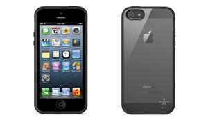 Belkin iPhone 5/5s/SE Grip Surround , průhledné/černé