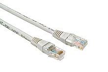 Patch kabel CAT5E UTP PVC 10m šedý