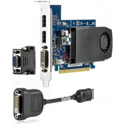 HP NVIDIA NVS 315 1GB PCIe x16 Graphics Card, (2x VGA, low profile)
