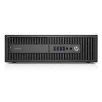 HP EliteDesk 800G2 SFF i5-6500, 500GB, 4GB DDR4, DVDRW, intel HD, Win10Pro DWN W7