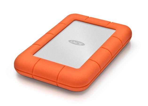 LaCie externí HDD Rugged Mini 500GB, 2.5'' USB 3.0, 7200RPM, odolný