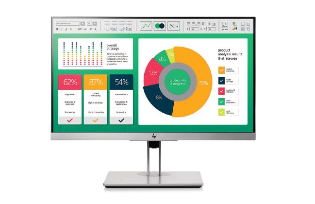 HP EliteDisplay E223 / 21,5'' IPS/ 1920x1080 / 1000:1/ 5ms/ 250cd/ VGA, DP, HDMI, USB / 3/3/0