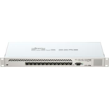 MikroTik CCR1016-12G L6 16xCore 1.2GHz 2GB RAM, 12xGig LAN, Rack 19'', LCD