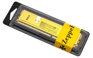 EVOLVEO DDR III 8GB 1333MHz EVOLVEO Zeppelin GOLD (s chladičem,box), CL9 (doživotní záruka)