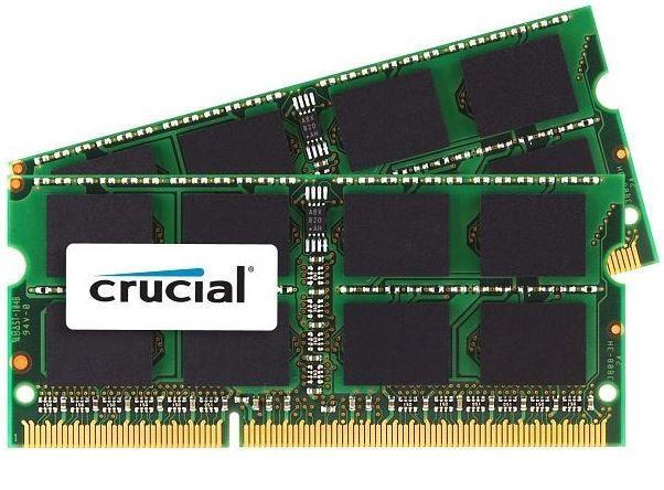 Crucial 16GB (Kit 2x8GB) 1333MHz DDR3 CL9 SODIMM 1.35V/1.5V pro Mac