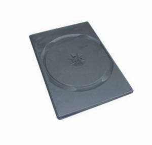 COVER IT Krabička na 1x DVD - černá - slim 9mm