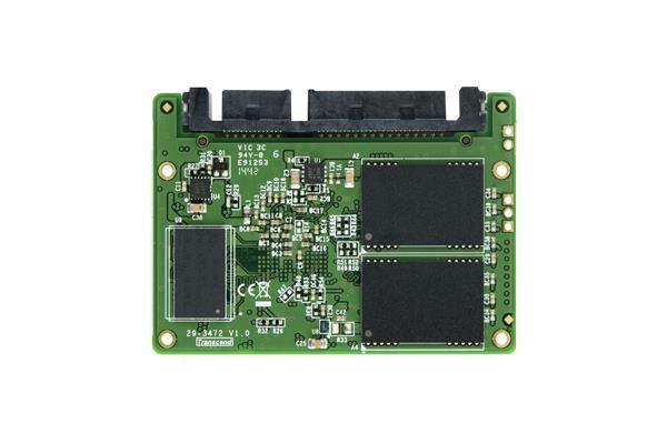 Transcend 32GB SSD Half-Slim SATA3 (čtení/zápis; 260MB/s; 40MB/s)