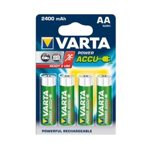 Akumulátory VARTA R6 2400 mAh 4 kusy