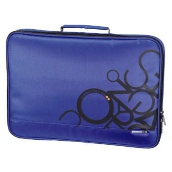 "Hama notebook obal AHA ""Jumble"", 44 cm (17.3""), mořská modrá"