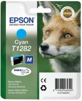 Inkoust Epson T1282 cyan   Stylus S22/SX125/SX425W/BX305F