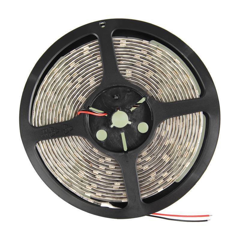 WE LED páska voděodolná 5m   30ks/m   5050   7.2W/m   12V DC   teplá bílá
