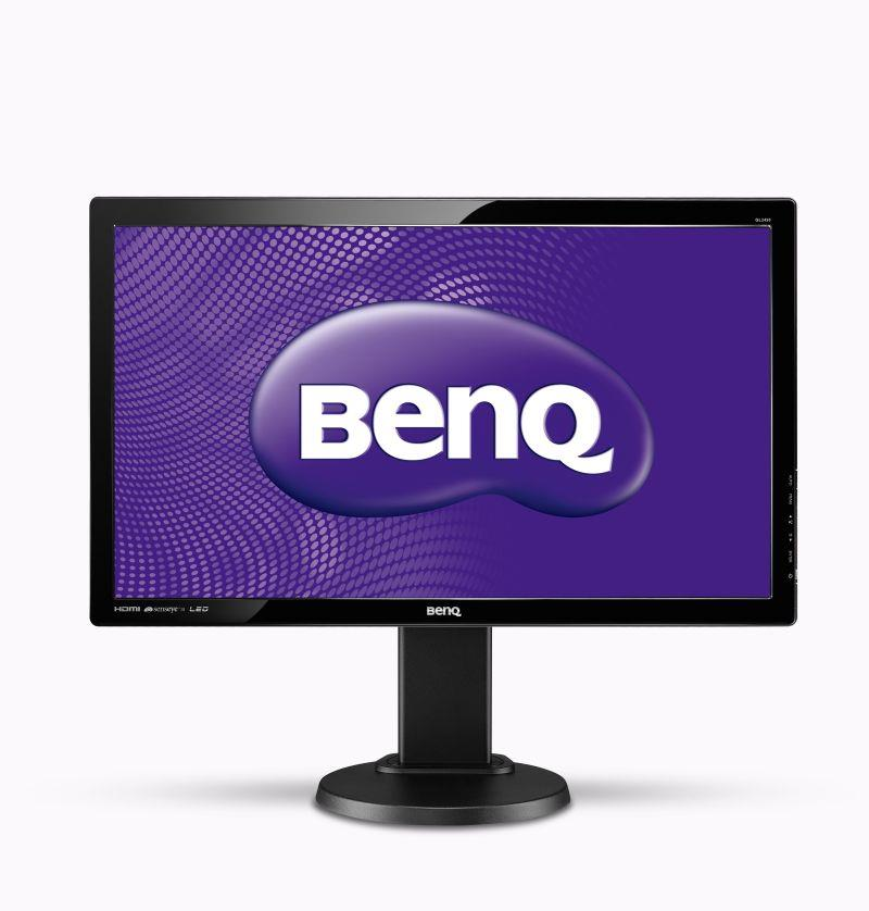 BenQ LCD GL2450HT 24'' LED,2ms,DC12mil,VGA/DVI/HDMI,repro,1920x1080,HAS,pivot,č