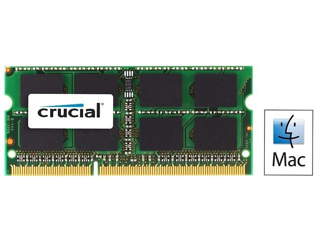 Crucial 8GB 1600MHz DDR3 CL11 SODIMM for Mac 1.35V/1.5V