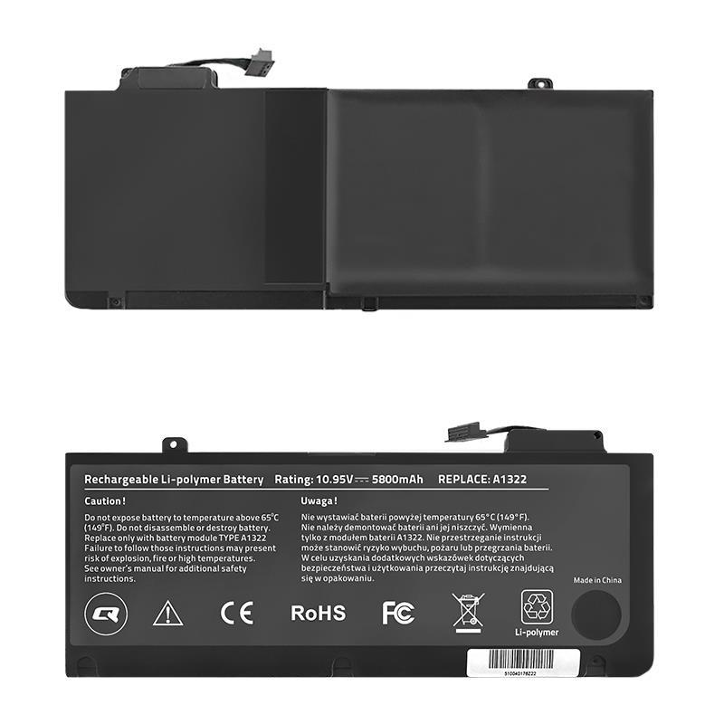 Qoltec Long Life baterie pro notebooky - MacBook Pro 13''   5800mAh   10.95V