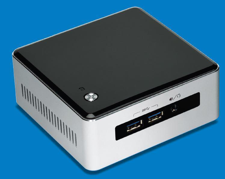 Intel BLKNUC5I5MYHE, i5-5300U, DDR3L, miniDP, embeddedDP, uCFF, BULK