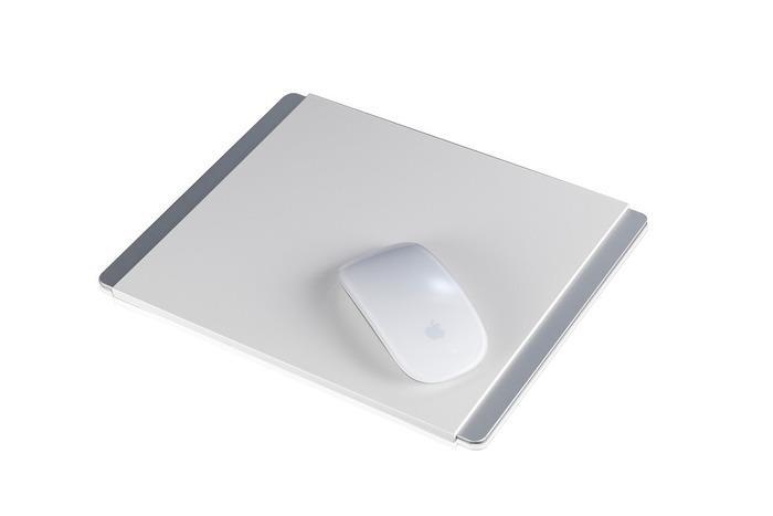 JustMobile Alupad podložka pod myš (Apple Magic Mouse/Mighty Mouse), hliníková